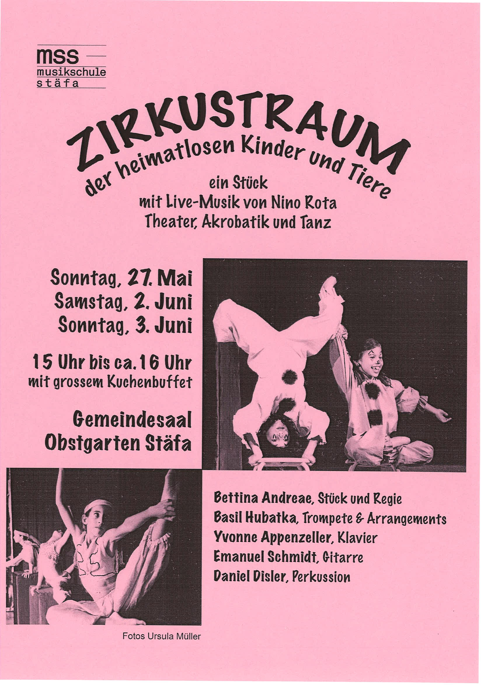 Theater Zirkustraum Flyer